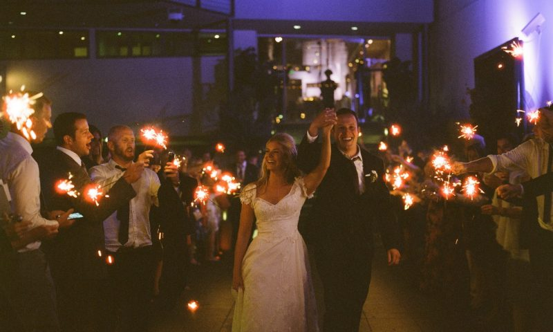 seven degrees wedding photographer nicole caldwell who uses film cinestill sparkler farewell