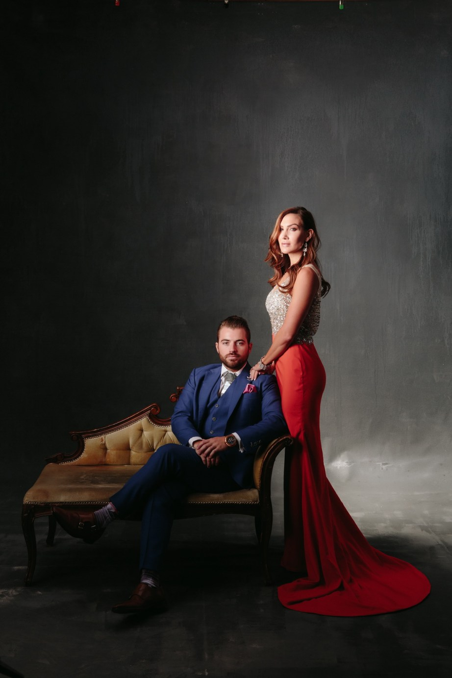 Engagement Photos In The Studio The Best Location Choice