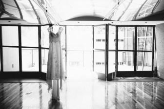 laguna beach wedding venue seven degrees photographer nicole caldwell dress hanging