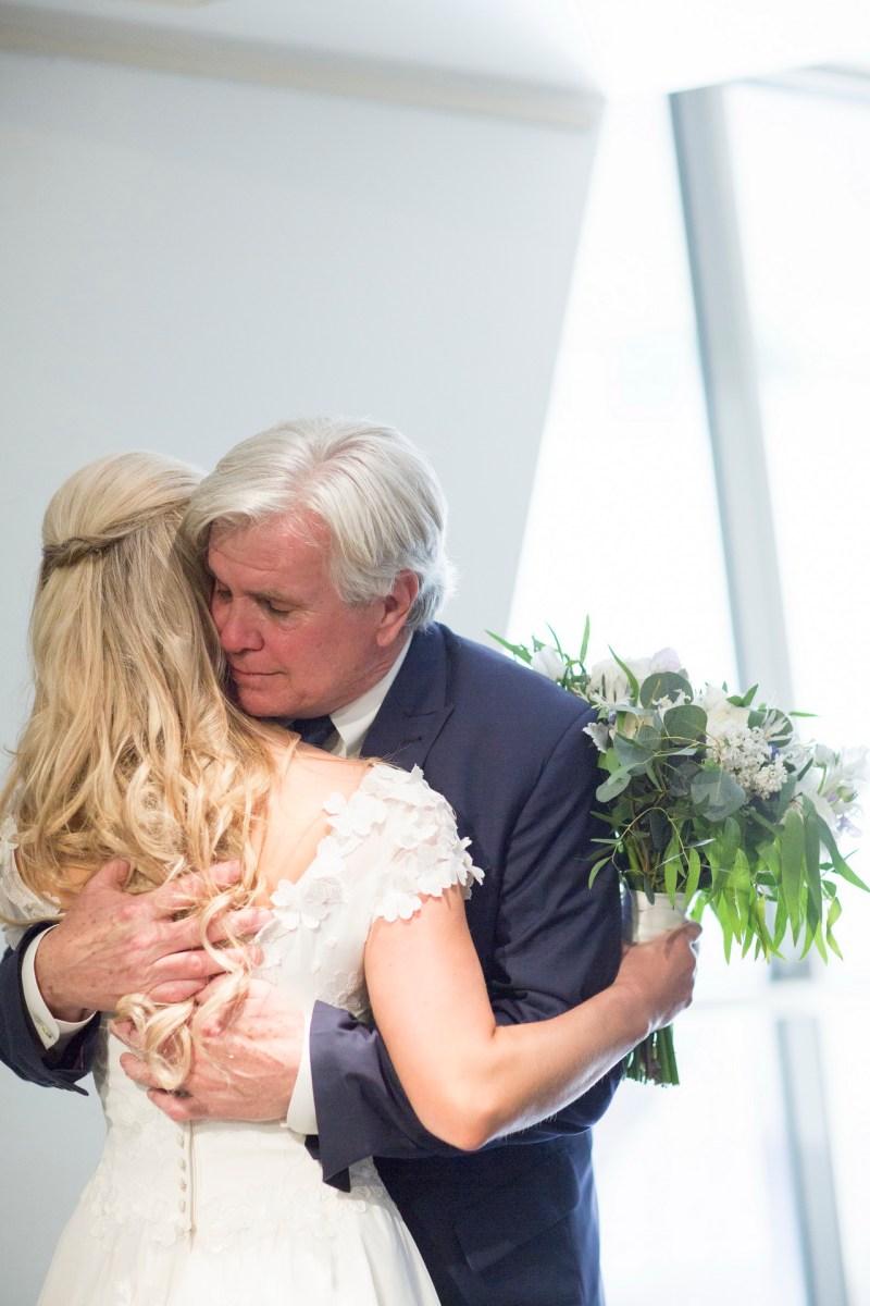 laguna beach wedding venue seven degrees photographer nicole caldwell bride with dad