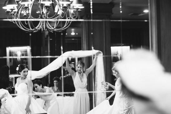 jonathan club downtown la weddings bride and groom nicole caldwell