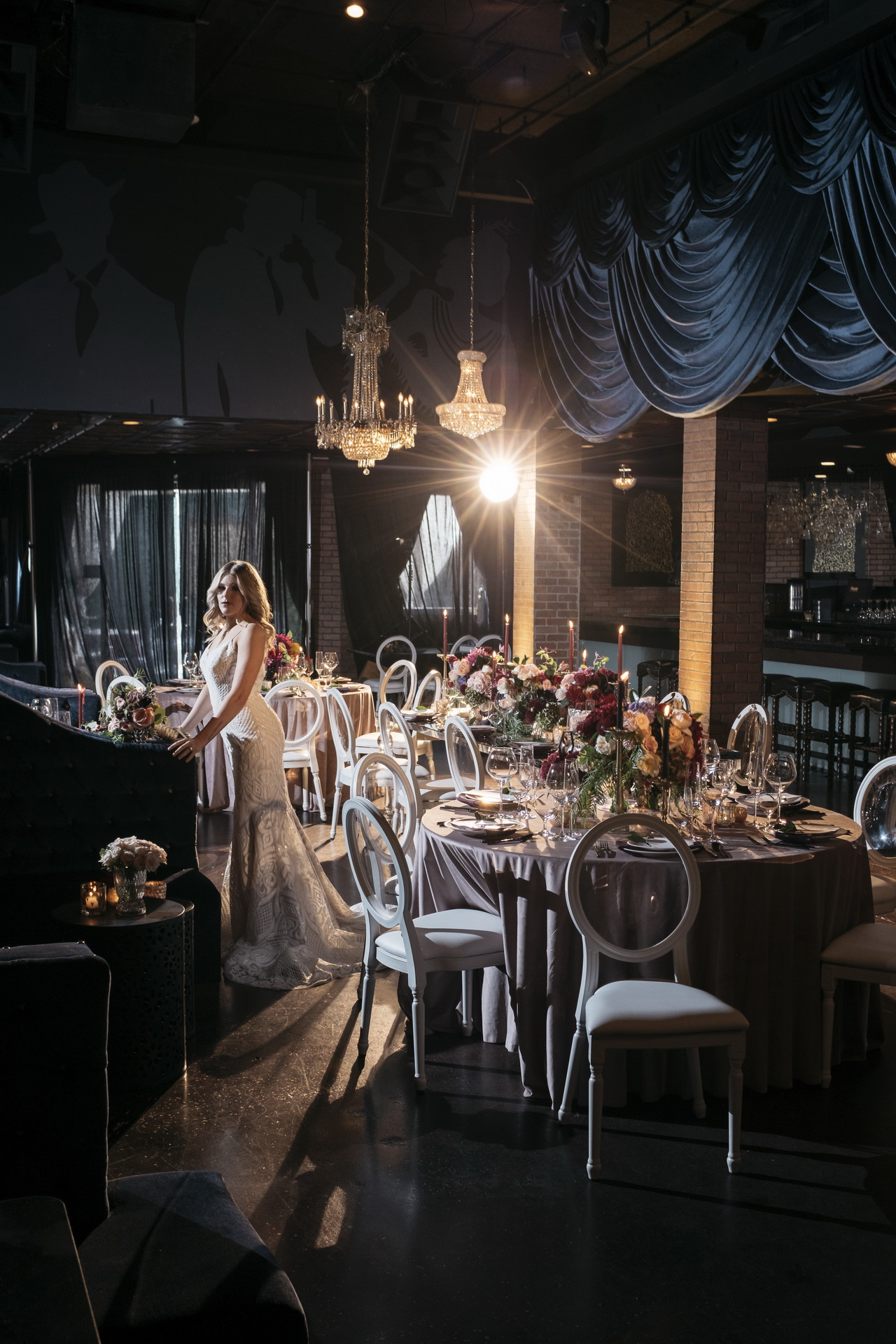 Dark and Moody | Wedding Editorial Styled Shoot