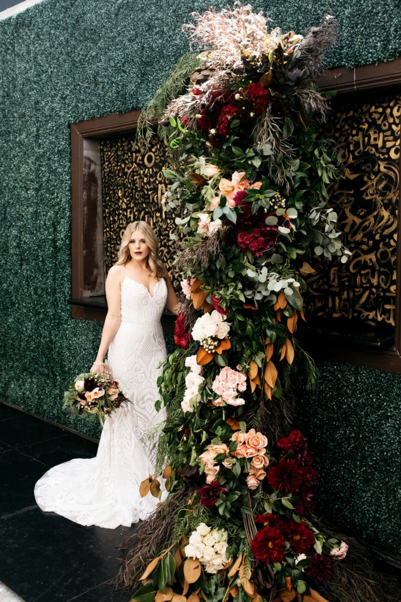 Dark And Moody Wedding Editorial Styled Shoot Nicole