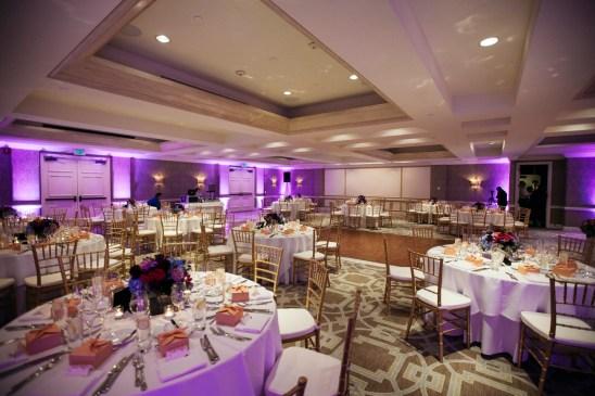 surf and sand resort wedding photographer nicole caldwell reception peleican ballroom