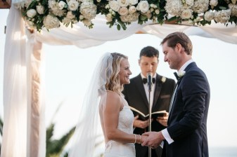 wedding ceremony bel air bay club wedding palos verdes