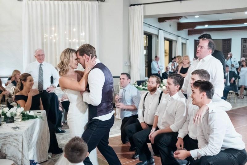 bel air bay club wedding reception