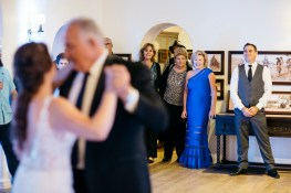 casa romantica san clemente wedding photographer father daughter dance