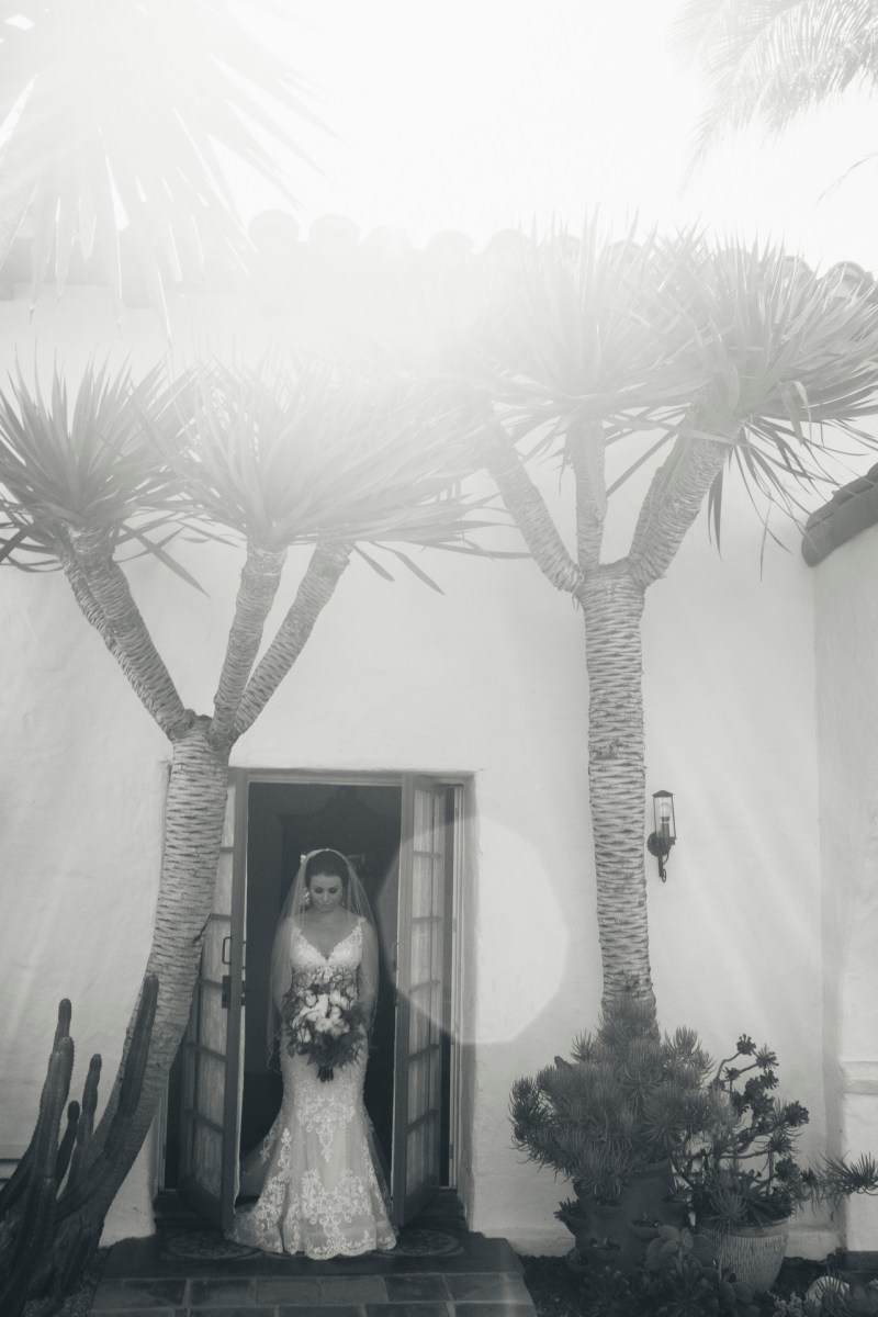 casa romantica san clemente wedding photographer artistic bride