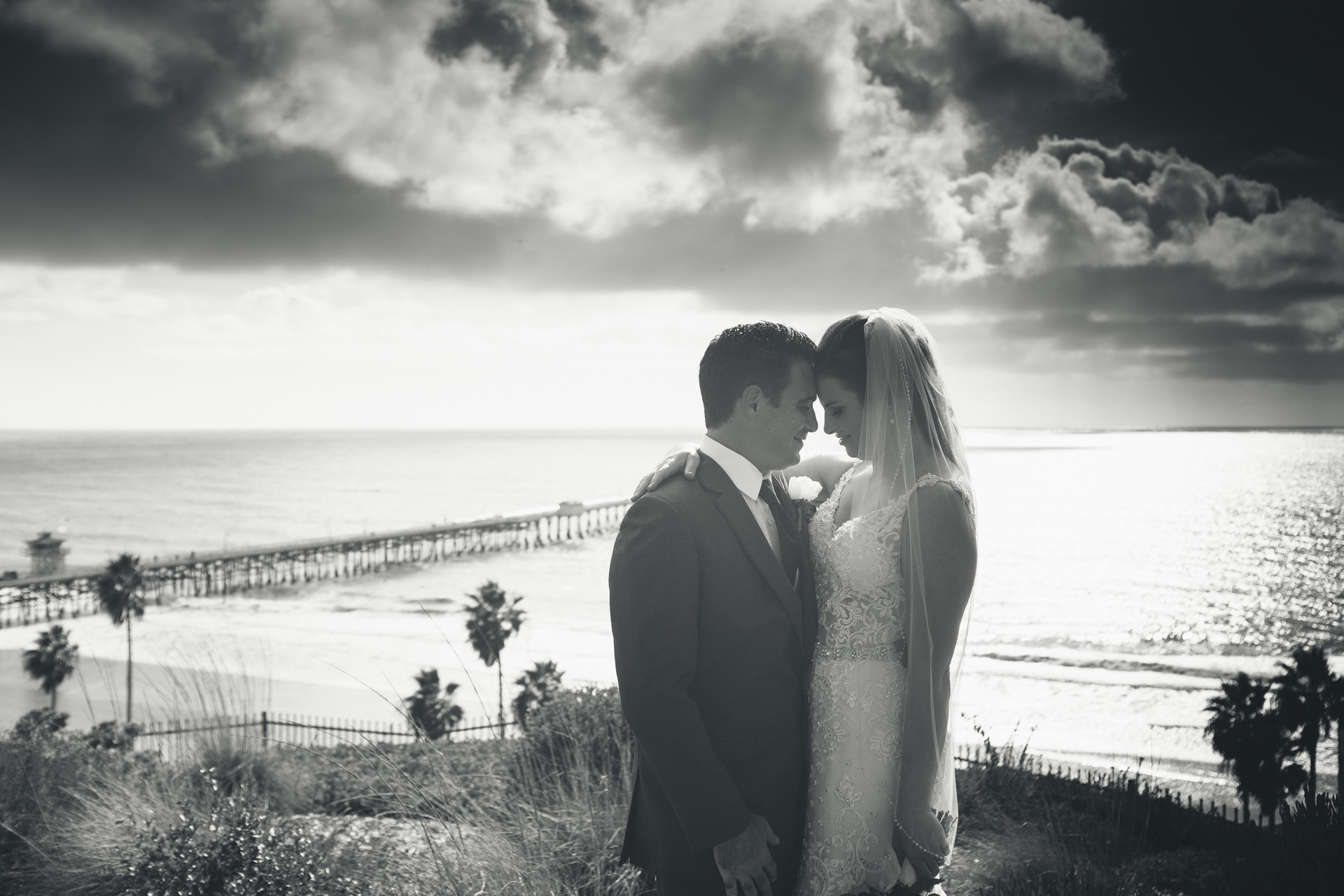 Casa Romantica, San Clemente Wedding, Romantic Indeed.