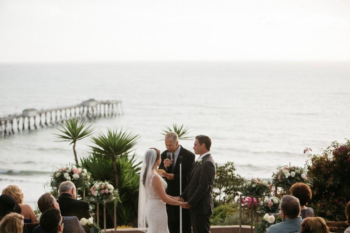 casa romantica san clemente wedding photographer artistic ceremony view