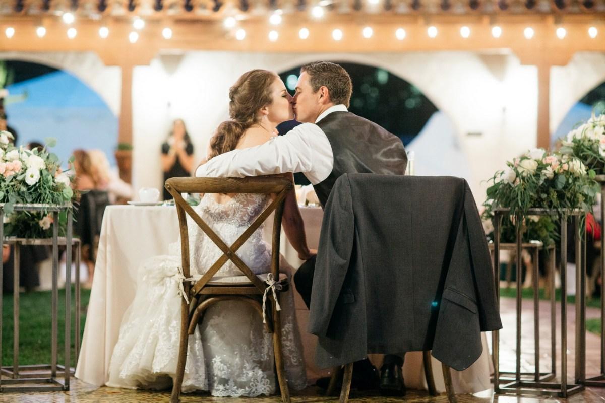 casa romantica san clemente wedding photographer sweetheart table