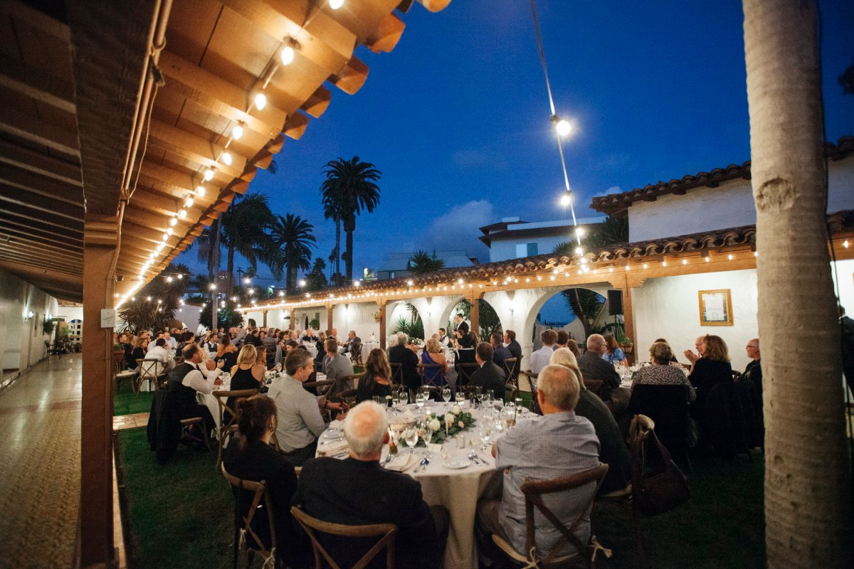 casa romantica san clemente wedding photographer reception