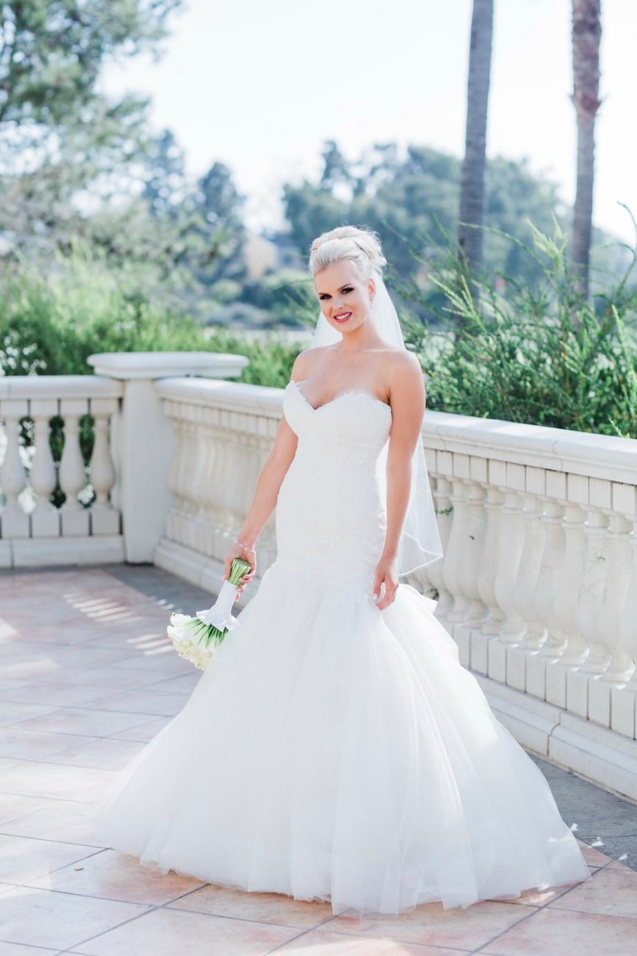 bride standing Monarch beach resort wedding photographer nicole caldwell
