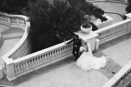bride and father Monarch beach resort wedding photographer nicole caldwell
