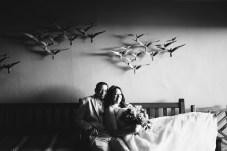 bride and groom surf and sand resort wedding photographer nicole caldwell