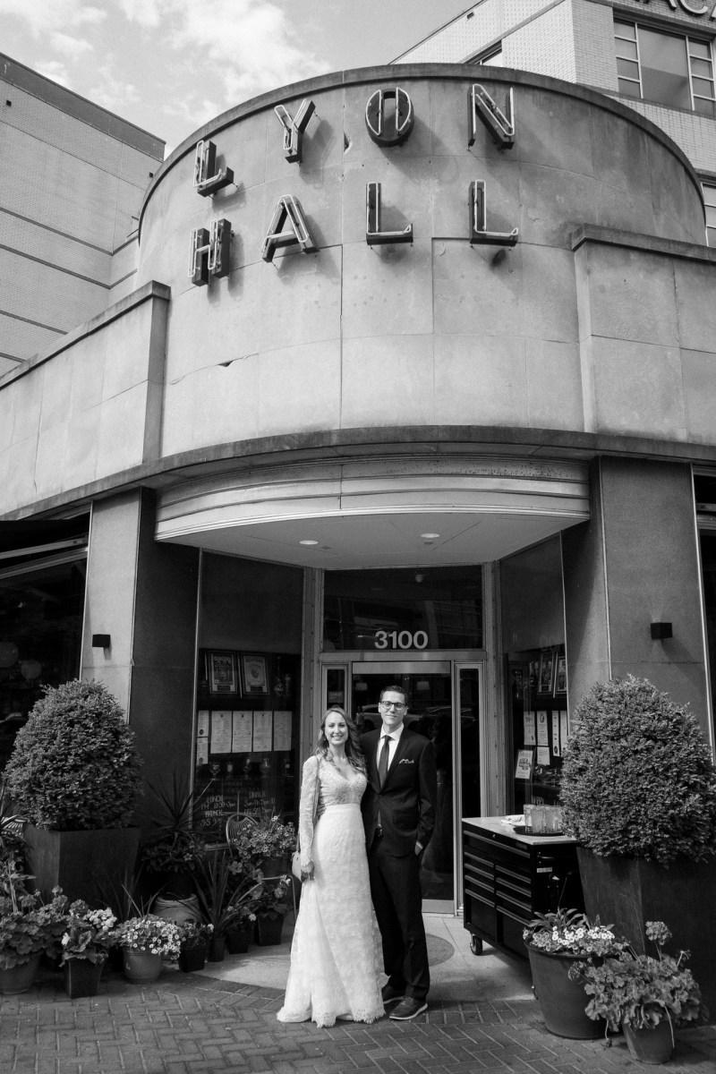 lyon hall bride and groom washington dc wedding and elopement by nicole caldwell