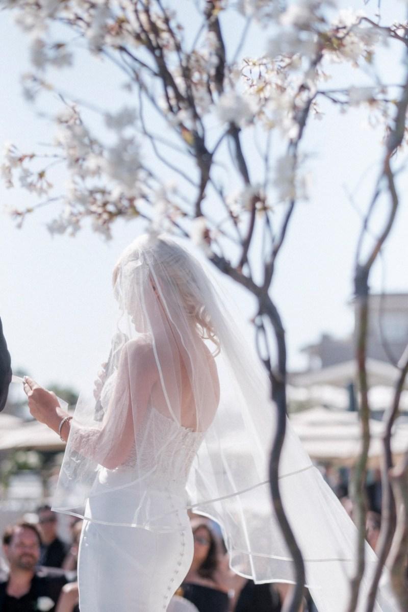 lawn wedding ceremony bride and groom wedding montage laguna beach