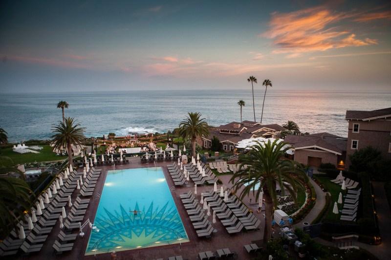 reception view montage laguna beach wedding