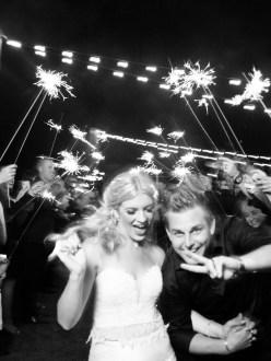 sparkler farewell sendoff bride and groom wedding montage laguna beach