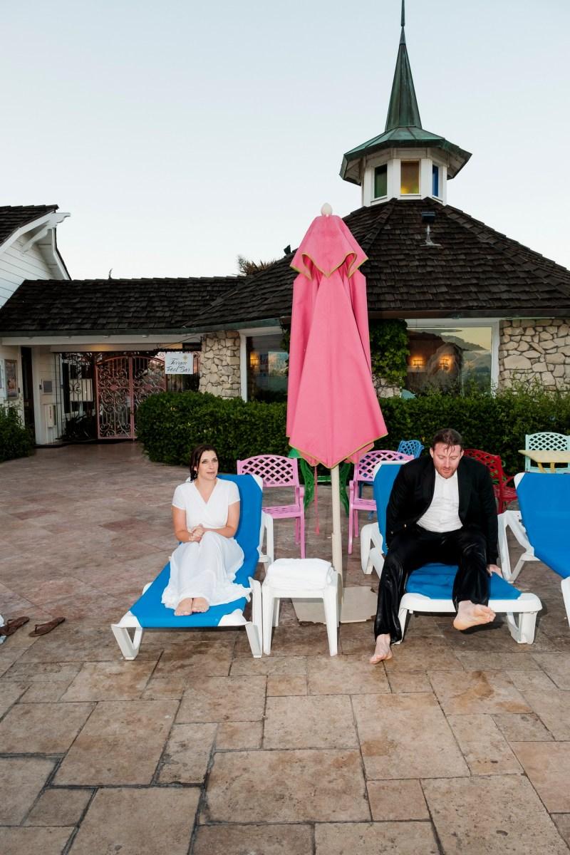 madonna inn engagement photos by nicole caldwell pool