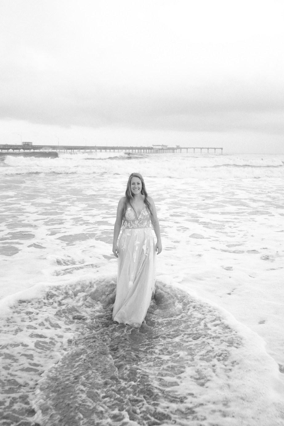 san diego wedding photographer nicole caldwell trash the dress ocean beach pier 05