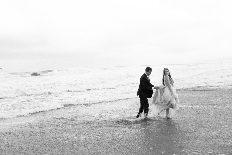 san diego wedding photographer nicole caldwell trash the dress ocean beach pier 10