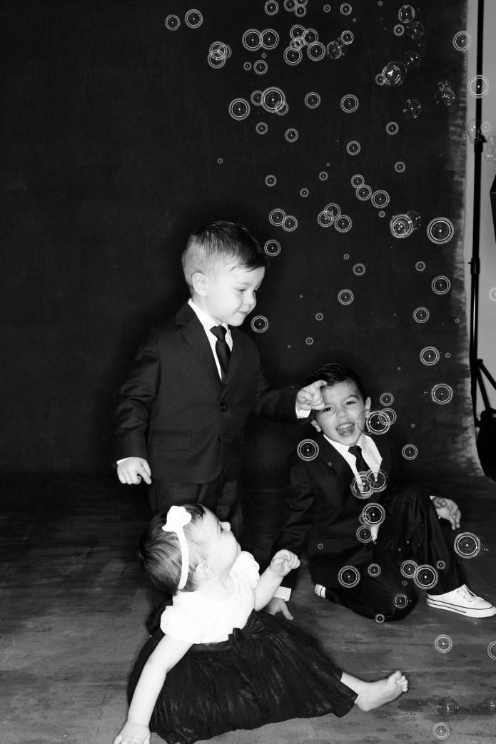 classic black and white family studio photographs nicole caldwell 07