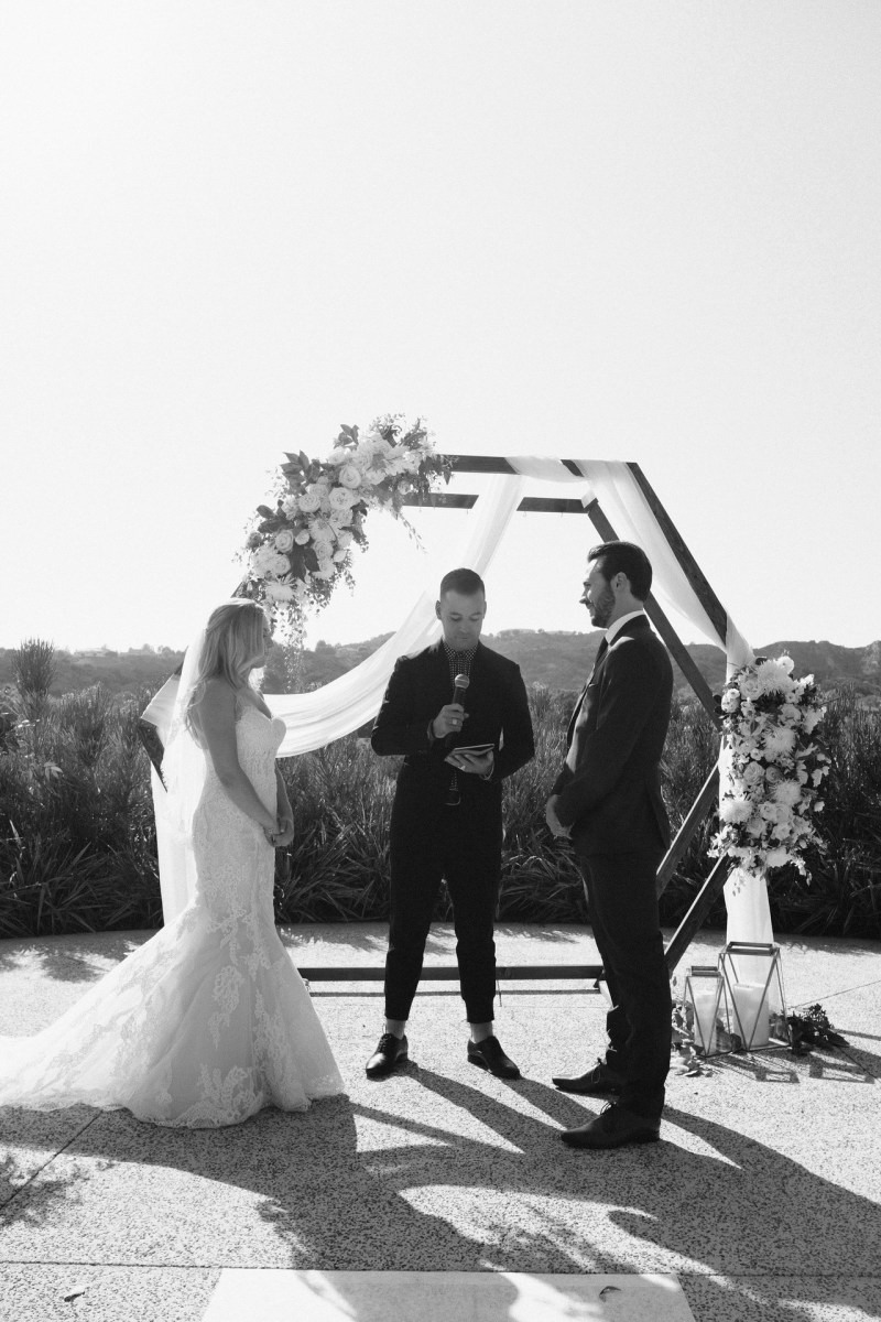 ceremony Coto De Caza Raquet and golf club weddings by nicole caldwell