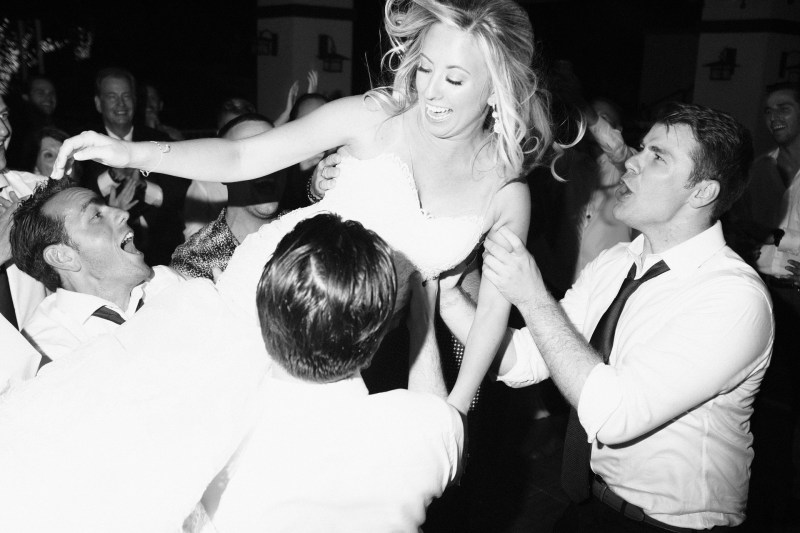 bride on dance floor Coto De Caza Raquet and golf club weddings by nicole caldwell
