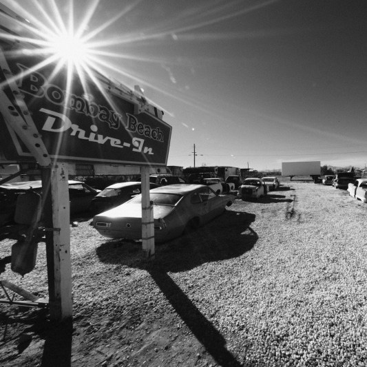 Bombay Beach Drive in Salton Sea