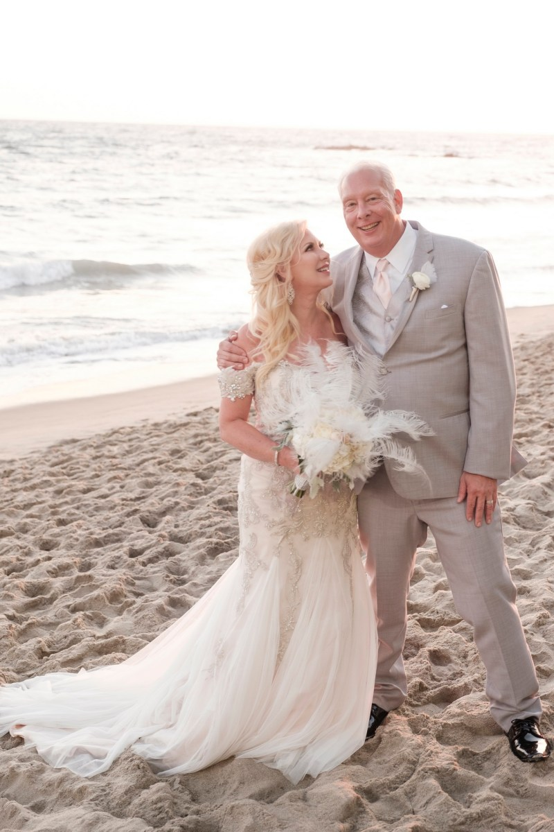 intimate second wedding Surf and Sand REsort Nicole Caldwell 22