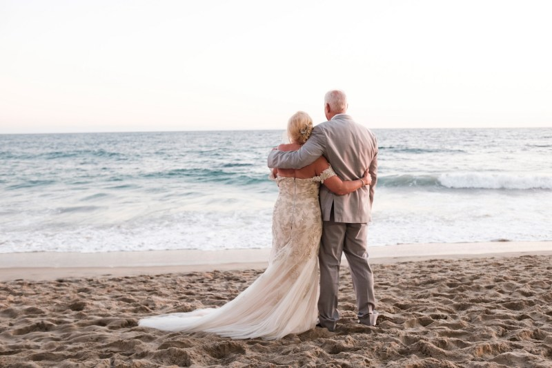 intimate second wedding Surf and Sand REsort Nicole Caldwell 24