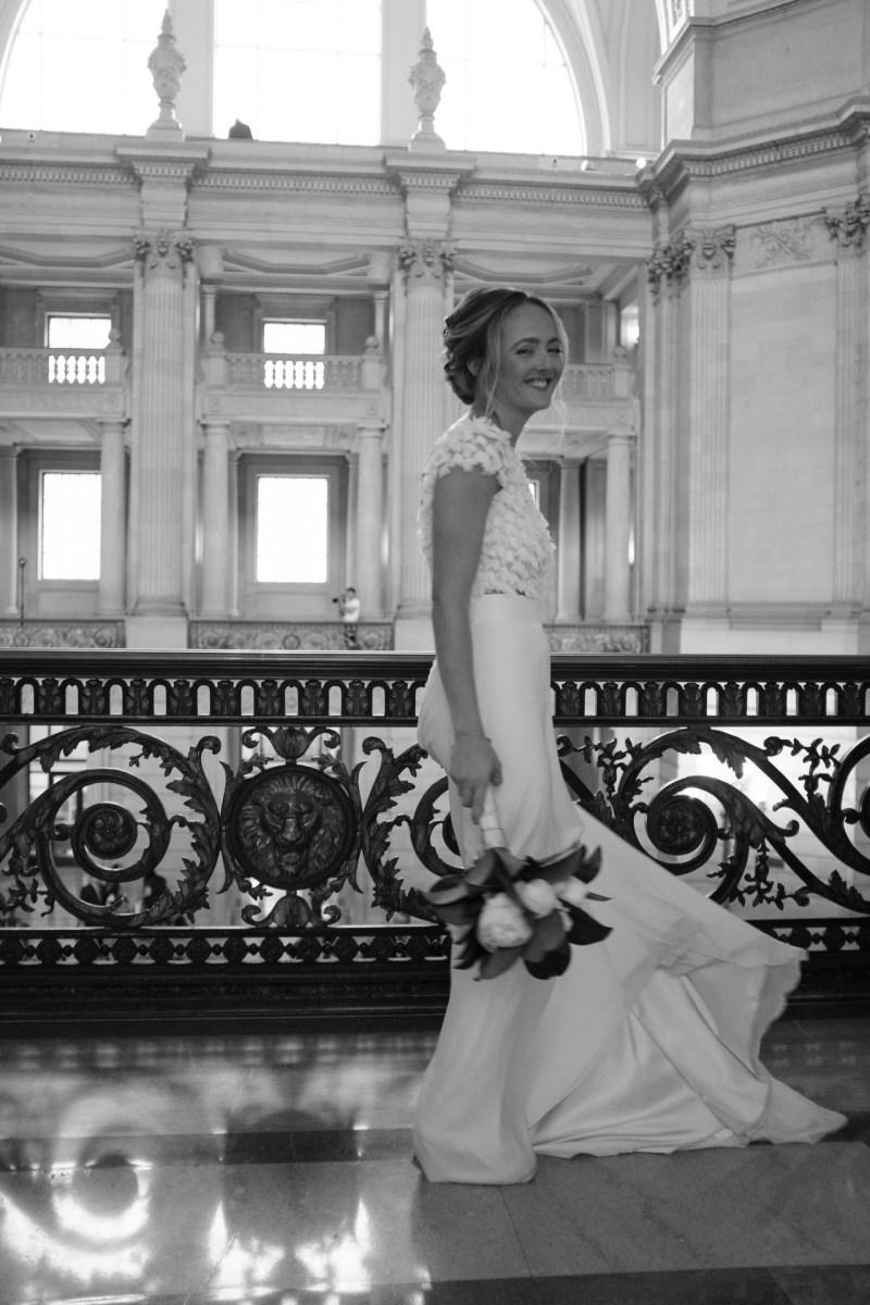 San Francisco city hall wedding nicole caldwell photography 013