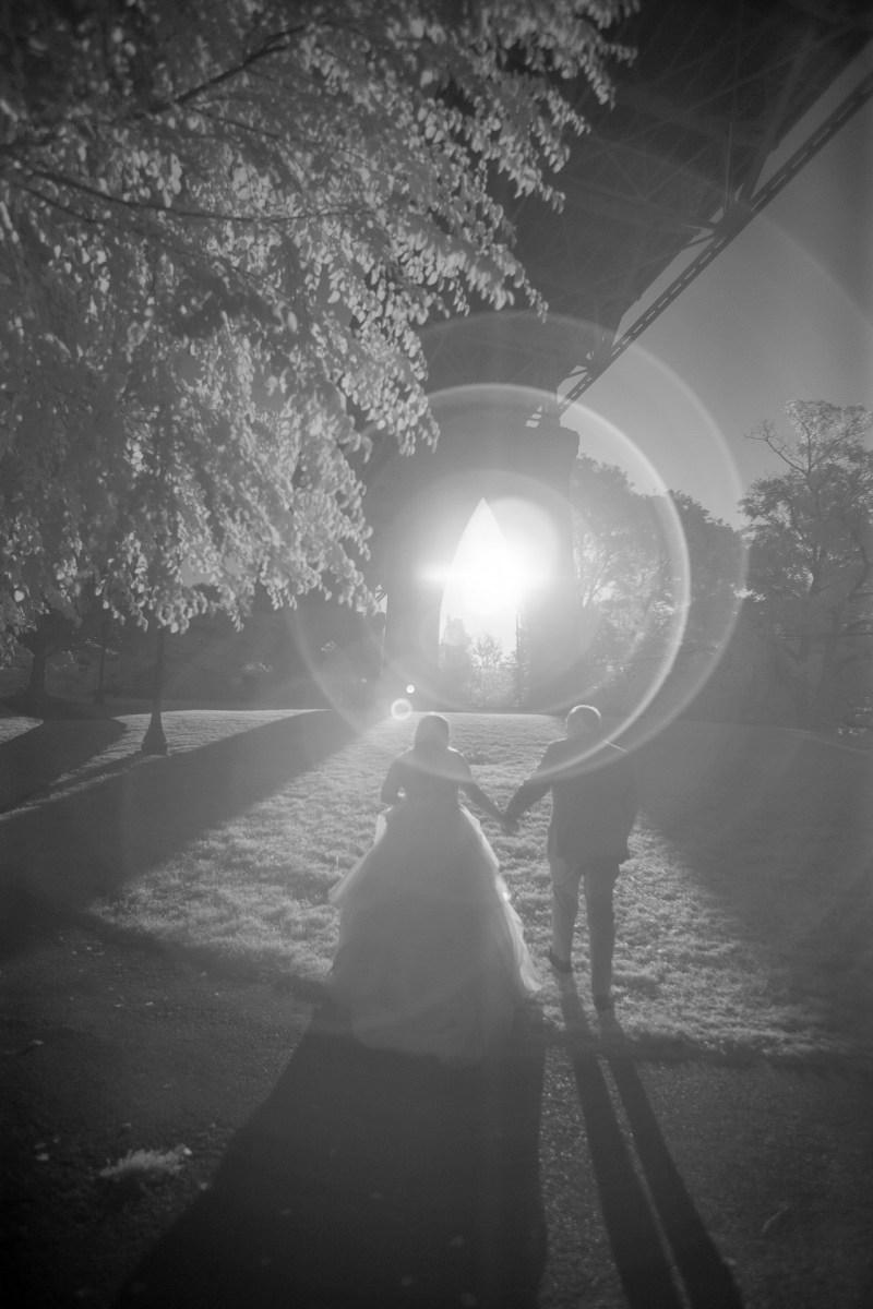 infrared weding photography nicole calwell 09 portalnd oregon st johns bridge