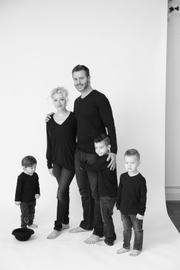 modern black and white family photography orange county nicole caldwell 06