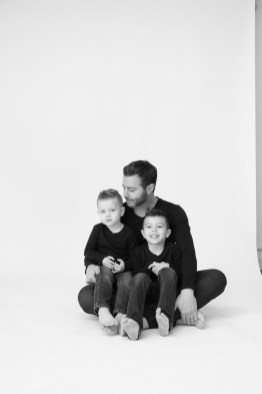 modern black and white family photography orange county nicole caldwell 14