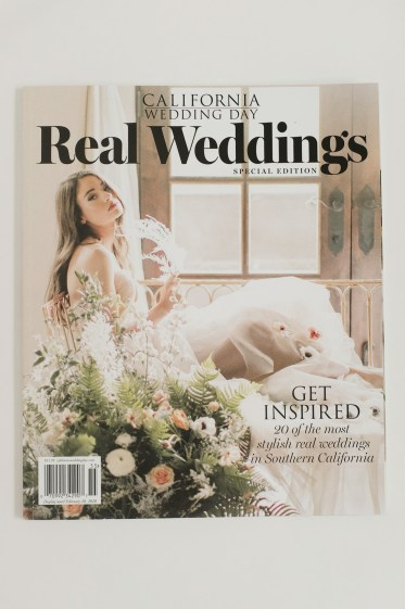 nicole caldwell as seen in ca wedding day magazine