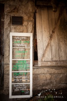 menu rustic temecula creek inn wedding stone house bride
