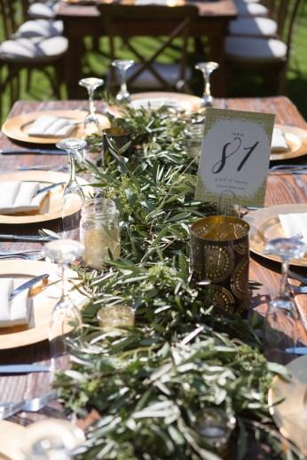 reception table temecula creek inn weddings