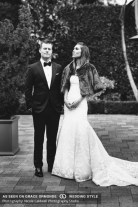 vibiana wedding bride and groom downtown abbey style
