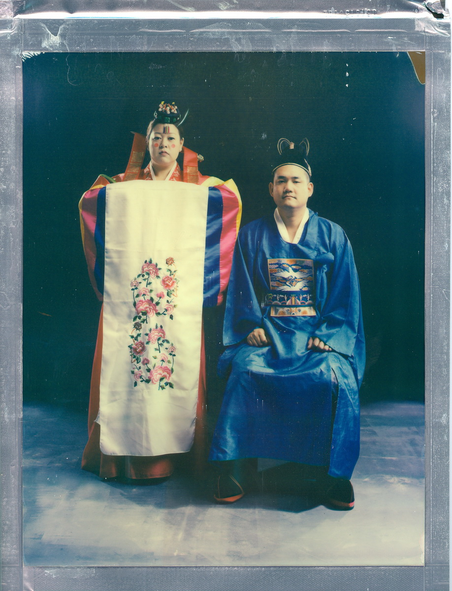 8 x 10 color polaroids   Traditional Korean Wedding
