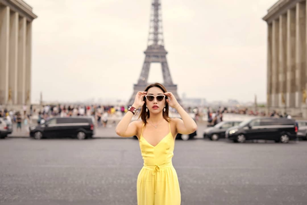 Nicole Chen in paris