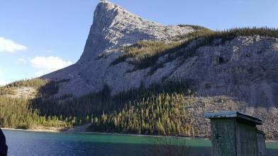 The mountain Hayley and I climbed
