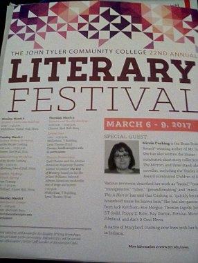 literary festival poster