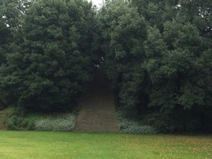 The mound in the stunning New College Gardens really got my imagination going!