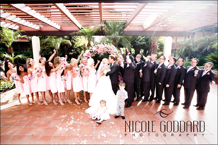 The entire wedding party!