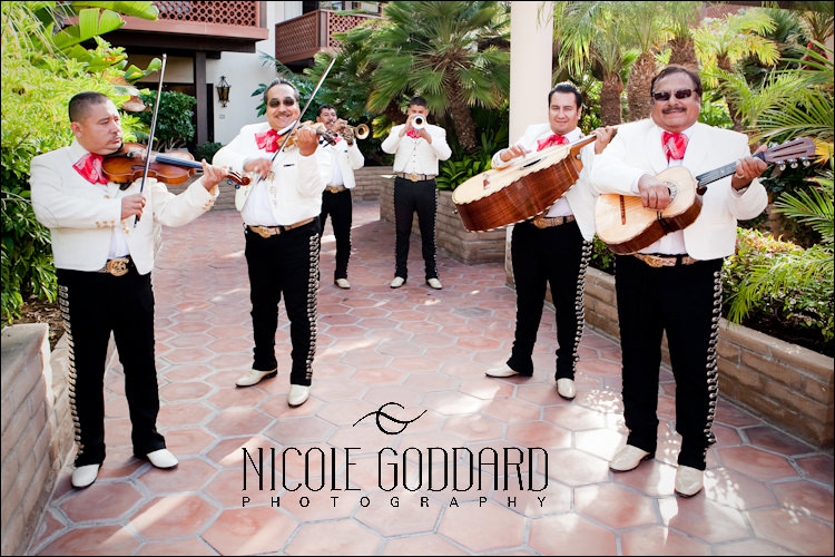 The Mariachi Band... SO fun. They set the tone for the cocktail party perfectly!