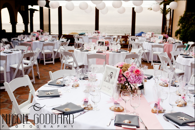 Amanda worked so hard at making her wedding details perfectly. The shot on the table was from our Engagement Session at the Disney Music Hall downtown LA.