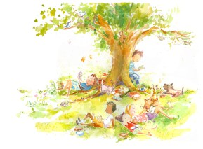 Literary Lights: Tree