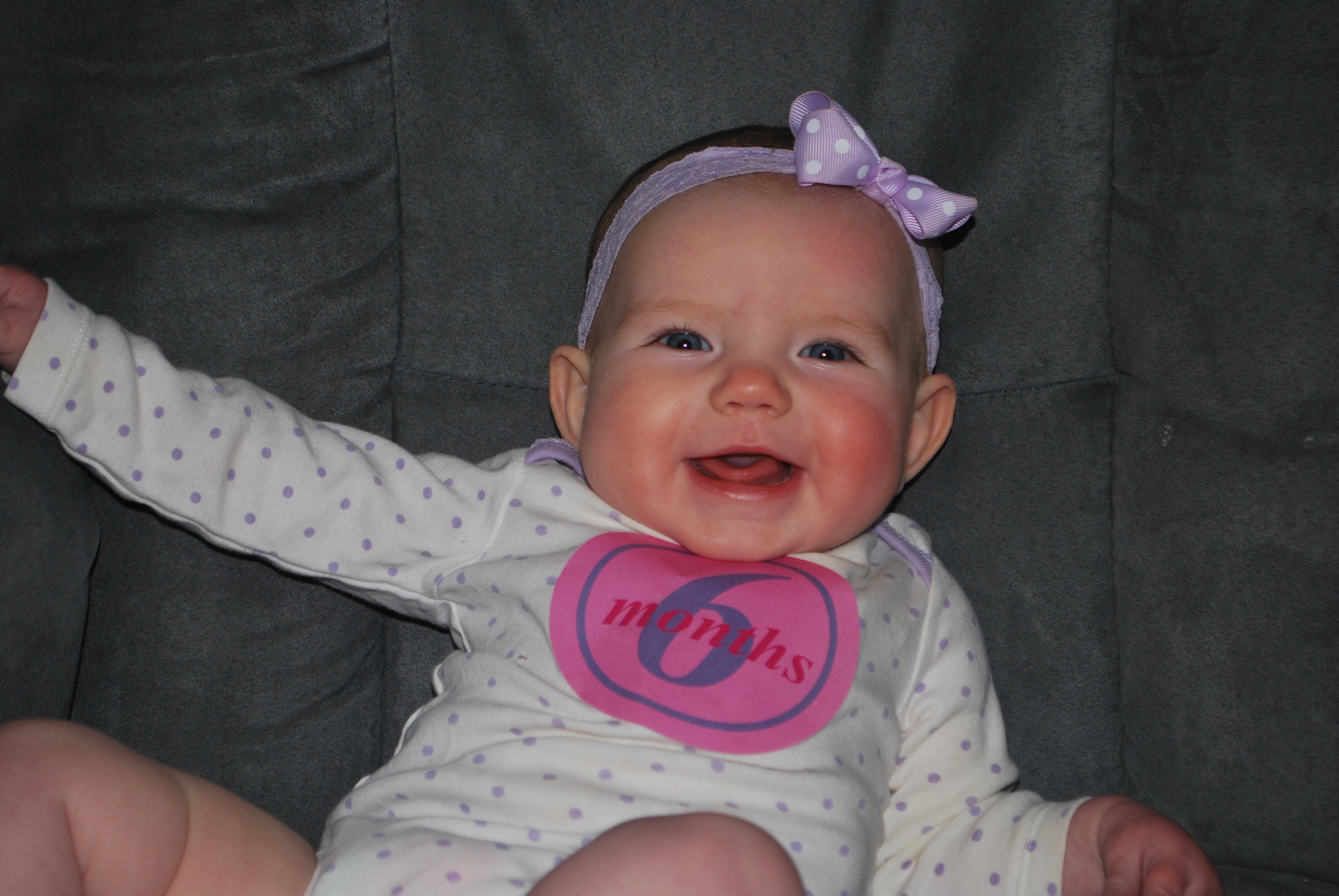 Baby Girl 6th Month